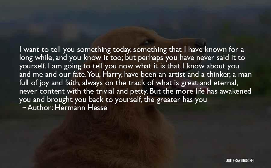 Sufferings In Life Quotes By Hermann Hesse