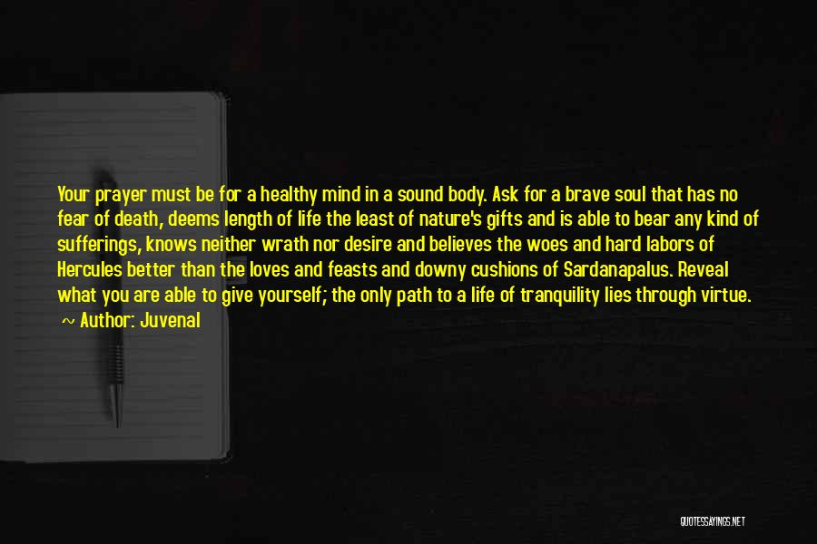 Sufferings In Life Quotes By Juvenal