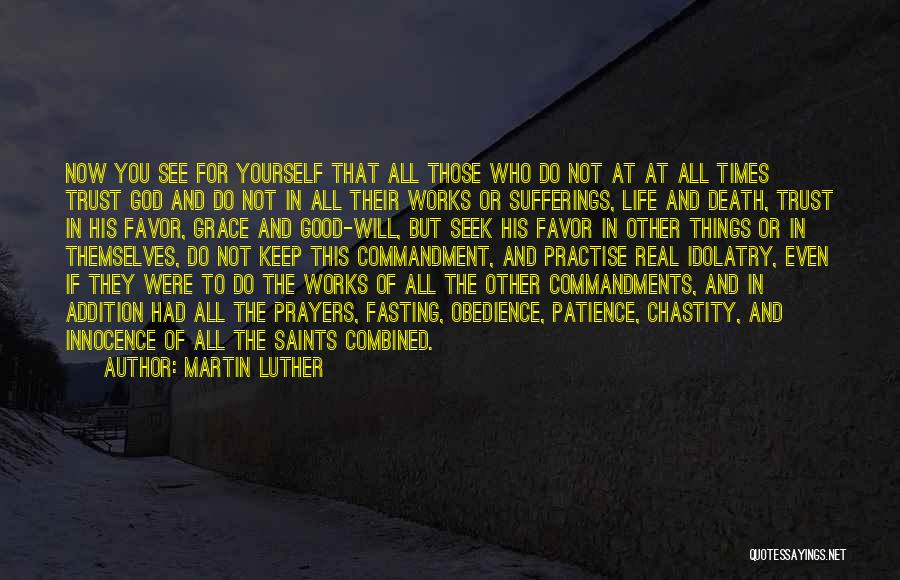 Sufferings In Life Quotes By Martin Luther