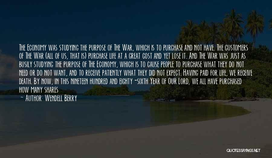 Sufferings In Life Quotes By Wendell Berry