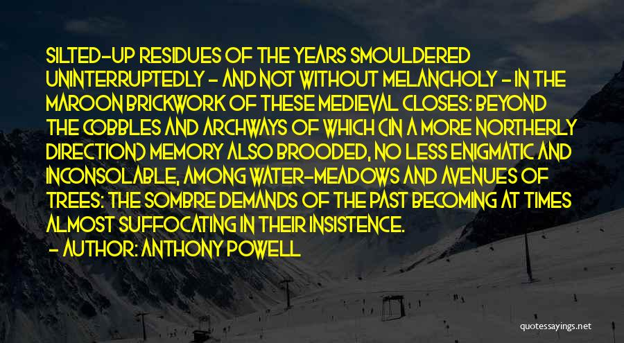 Suffocating Quotes By Anthony Powell