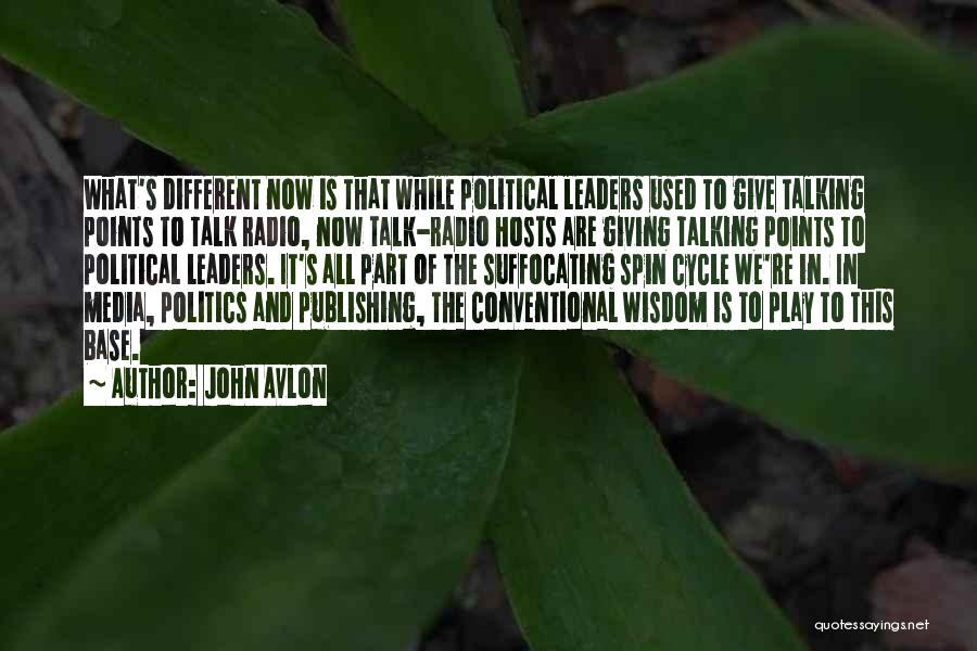 Suffocating Quotes By John Avlon