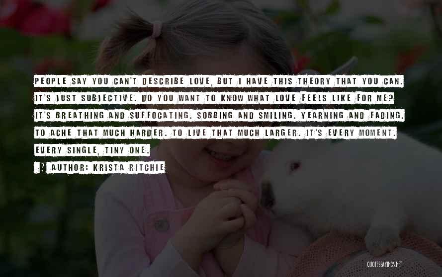 Suffocating Quotes By Krista Ritchie