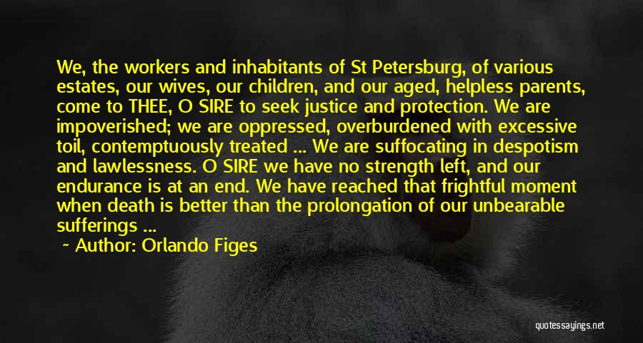 Suffocating Quotes By Orlando Figes