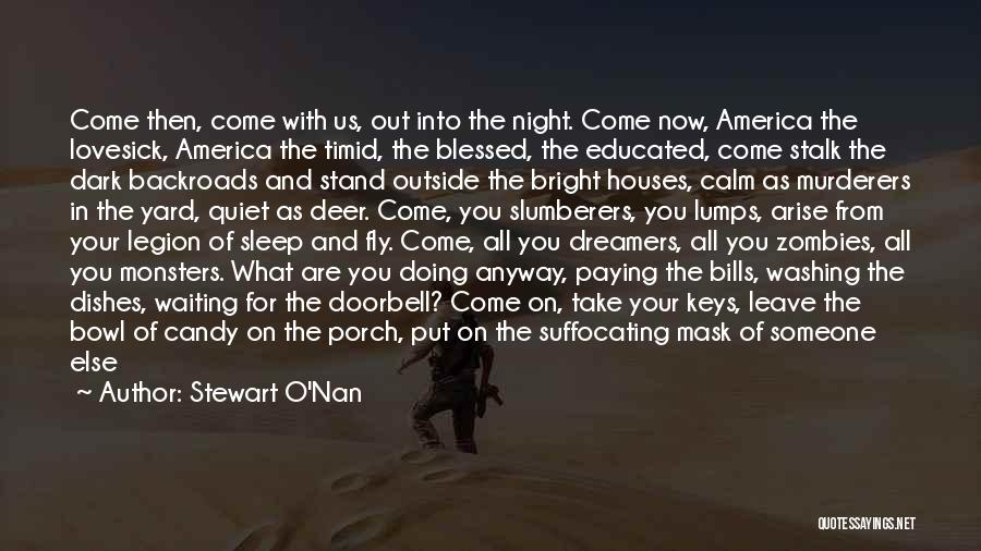 Suffocating Quotes By Stewart O'Nan
