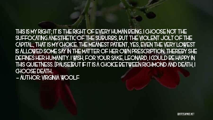 Suffocating Quotes By Virginia Woolf
