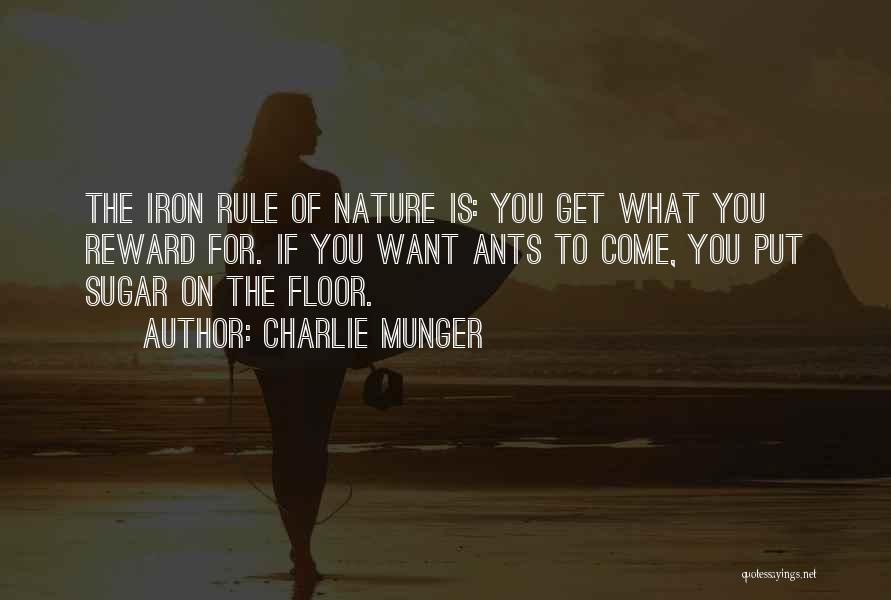 Sugar Quotes By Charlie Munger