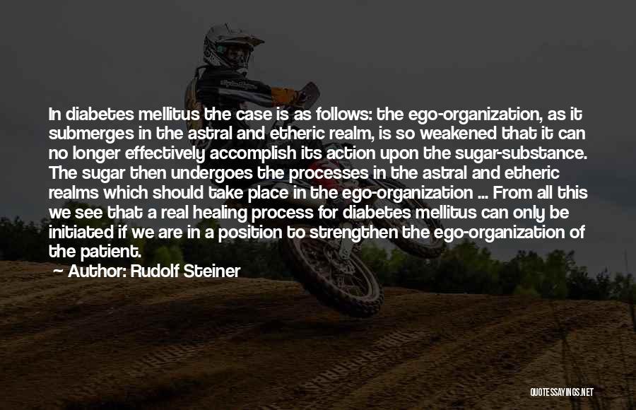 Sugar Quotes By Rudolf Steiner