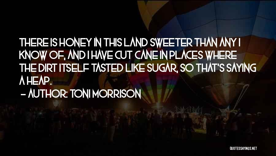 Sugar Quotes By Toni Morrison