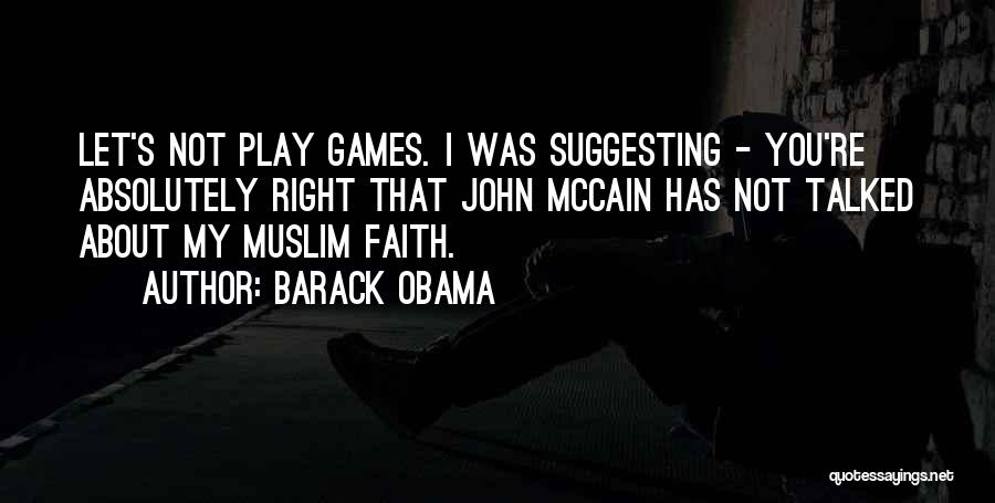 Suggesting Quotes By Barack Obama