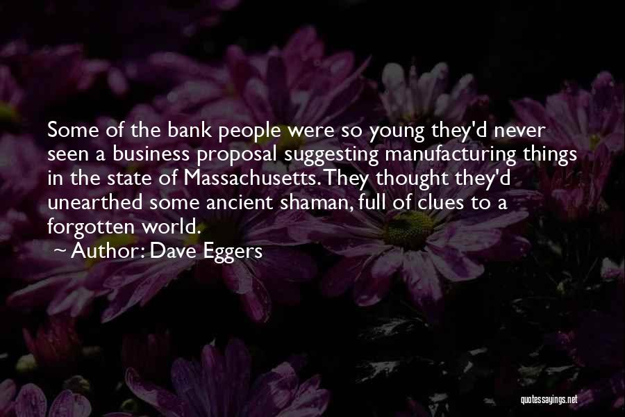 Suggesting Quotes By Dave Eggers