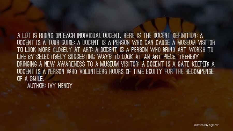 Suggesting Quotes By Ivy Hendy