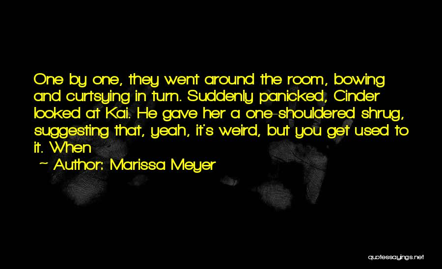 Suggesting Quotes By Marissa Meyer