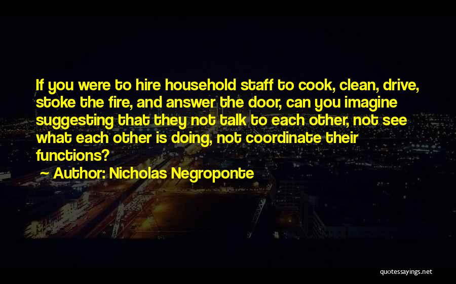 Suggesting Quotes By Nicholas Negroponte