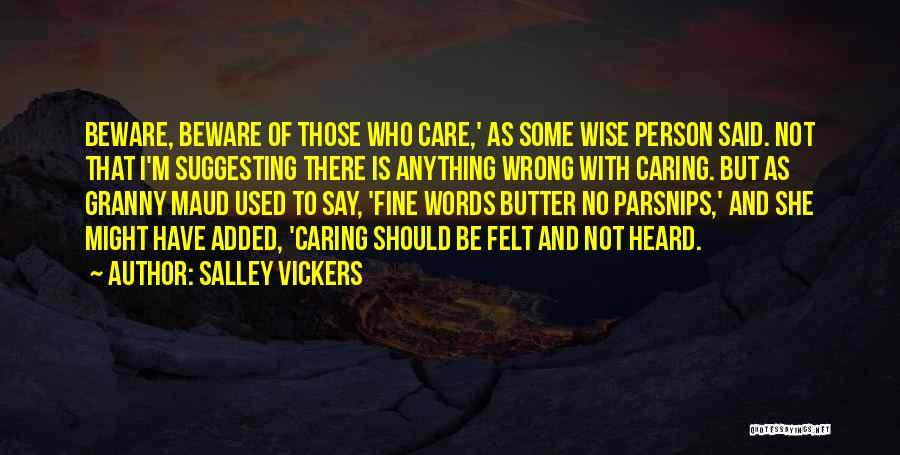 Suggesting Quotes By Salley Vickers