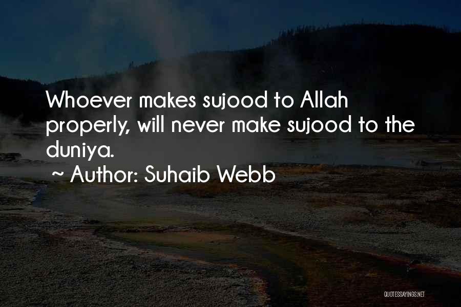 Suhaib Webb Quotes 152000