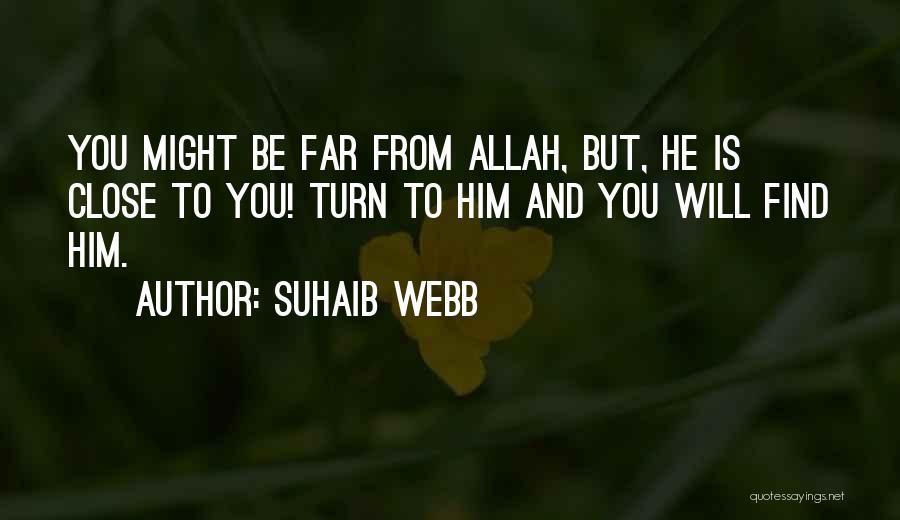 Suhaib Webb Quotes 851496