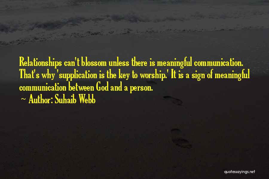 Suhaib Webb Quotes 873369