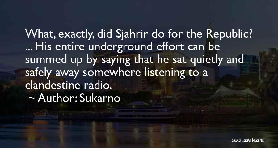 Sukarno Quotes 1808205
