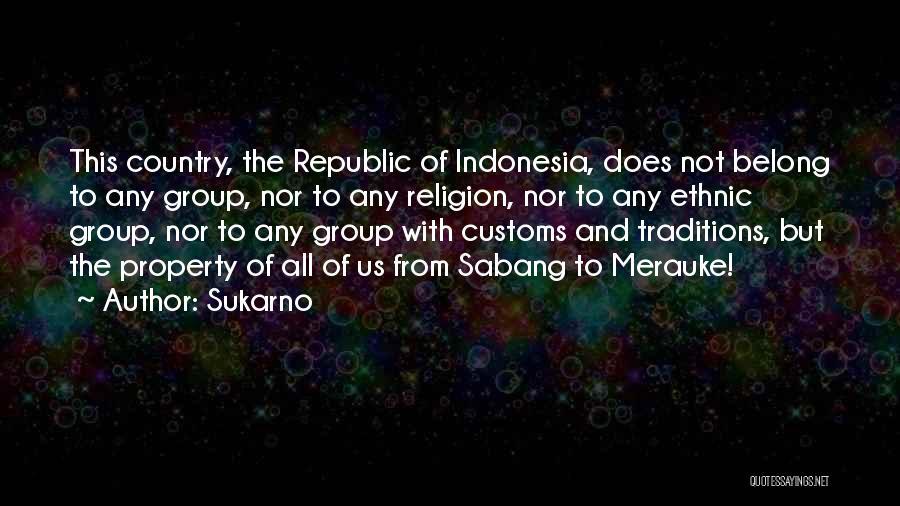 Sukarno Quotes 883181