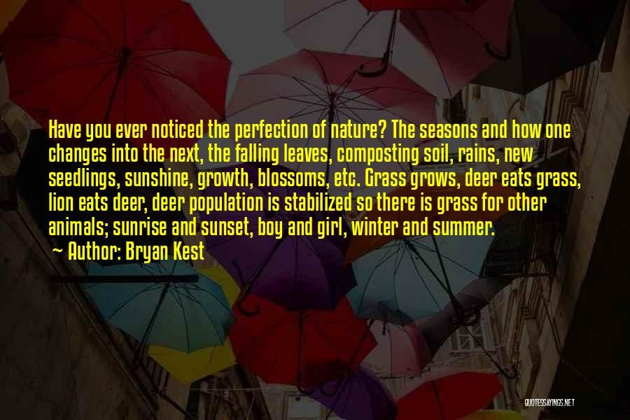 Summer And Sunshine Quotes By Bryan Kest
