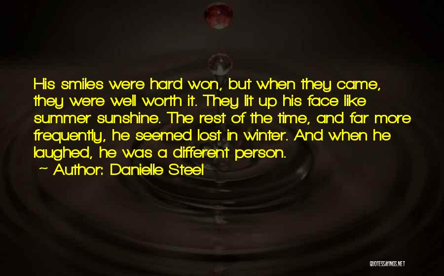 Summer And Sunshine Quotes By Danielle Steel