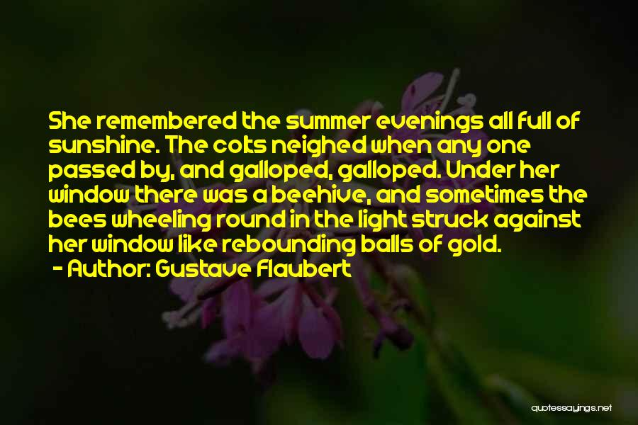 Summer And Sunshine Quotes By Gustave Flaubert