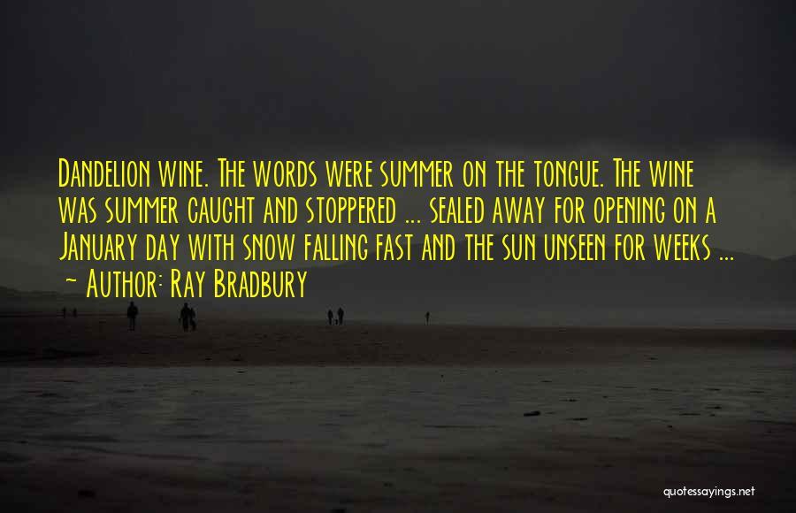Summer And Sunshine Quotes By Ray Bradbury