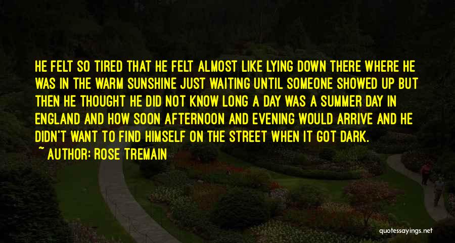 Summer And Sunshine Quotes By Rose Tremain