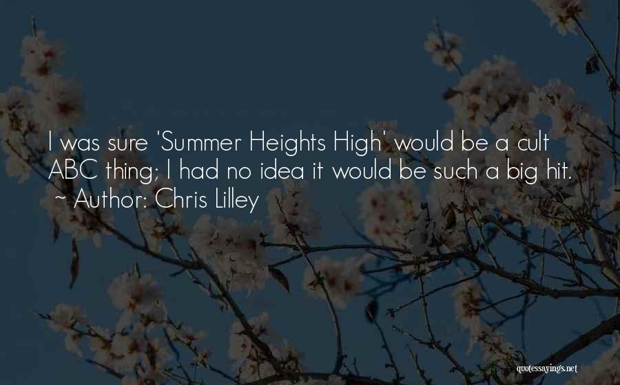Summer Heights High Quotes By Chris Lilley