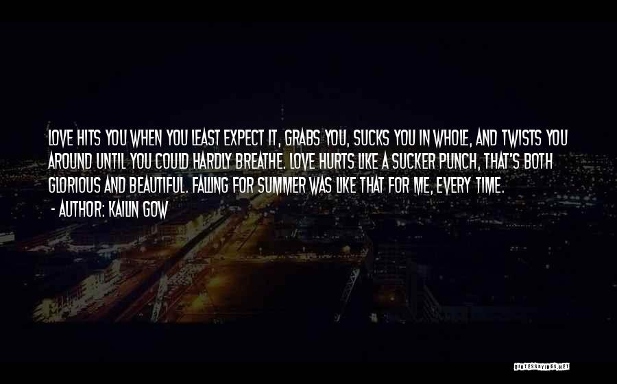 Summer With Your Love Quotes By Kailin Gow