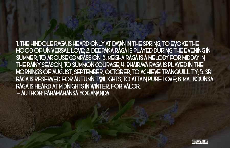 Summer With Your Love Quotes By Paramahansa Yogananda