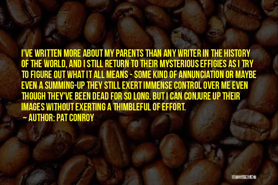 Summing Up Quotes By Pat Conroy