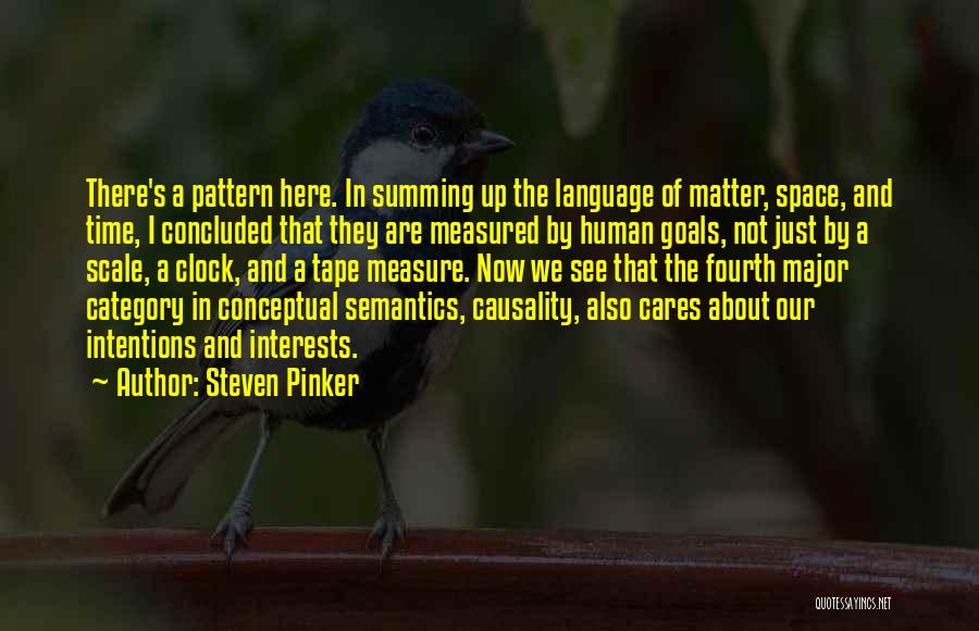 Summing Up Quotes By Steven Pinker