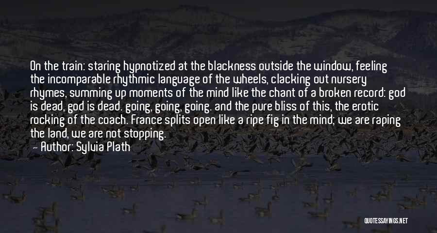 Summing Up Quotes By Sylvia Plath