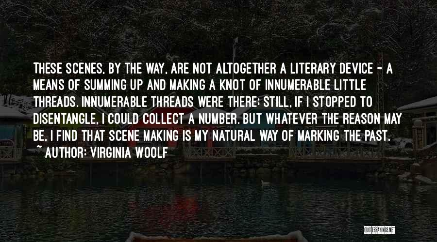 Summing Up Quotes By Virginia Woolf