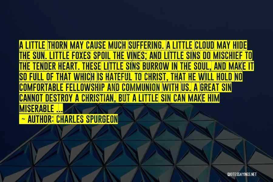Sun Cloud Quotes By Charles Spurgeon
