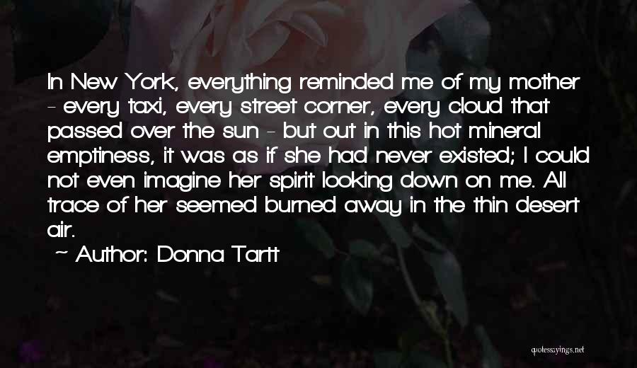 Sun Cloud Quotes By Donna Tartt