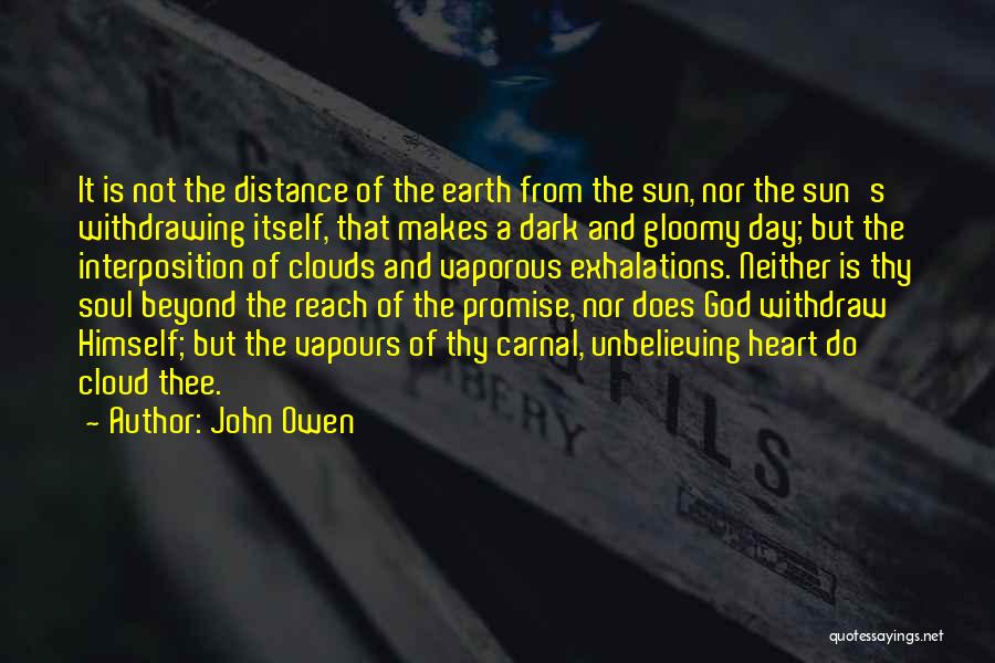 Sun Cloud Quotes By John Owen