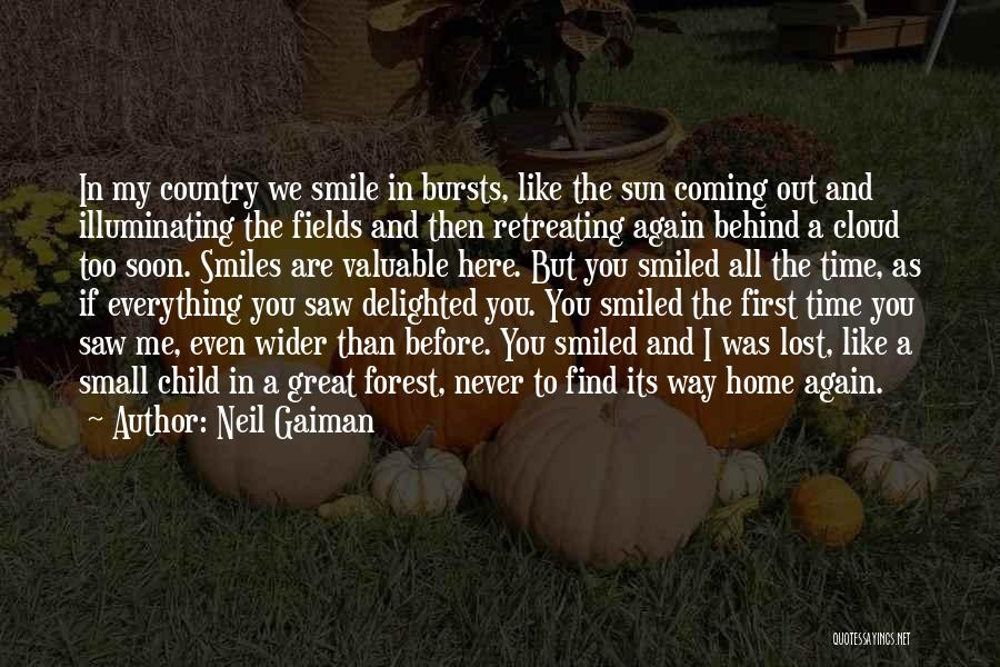 Sun Cloud Quotes By Neil Gaiman