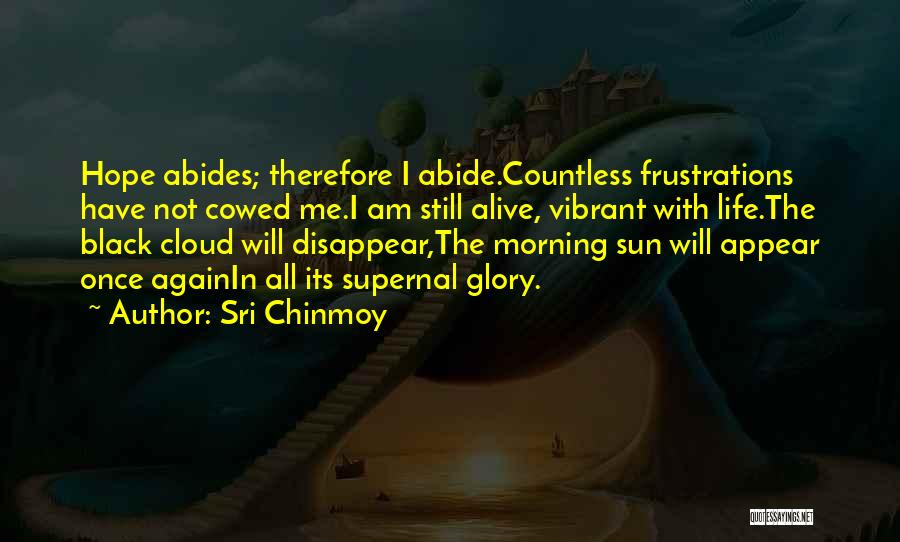 Sun Cloud Quotes By Sri Chinmoy