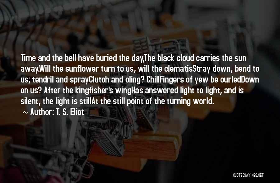 Sun Cloud Quotes By T. S. Eliot