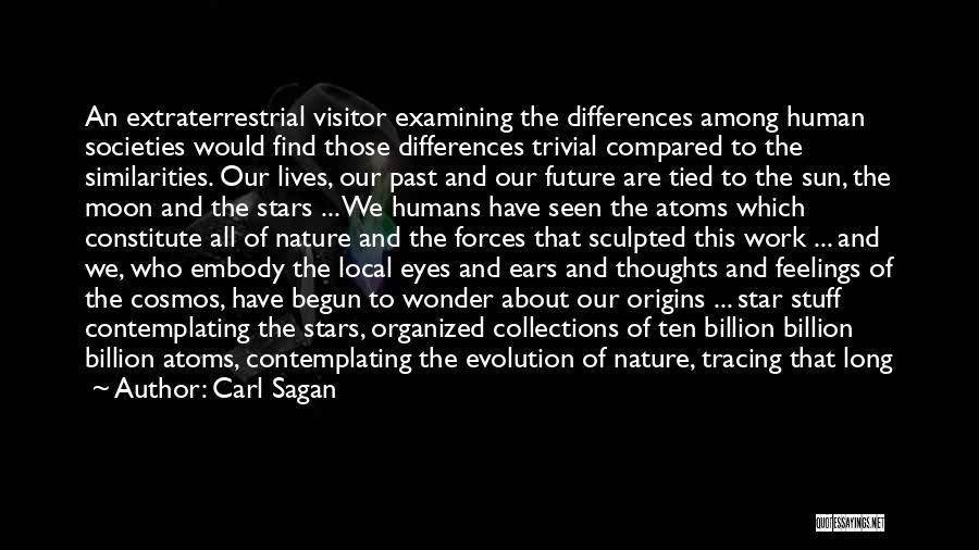 Sun Moon And Earth Quotes By Carl Sagan