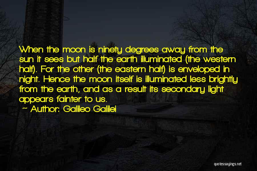 Sun Moon And Earth Quotes By Galileo Galilei