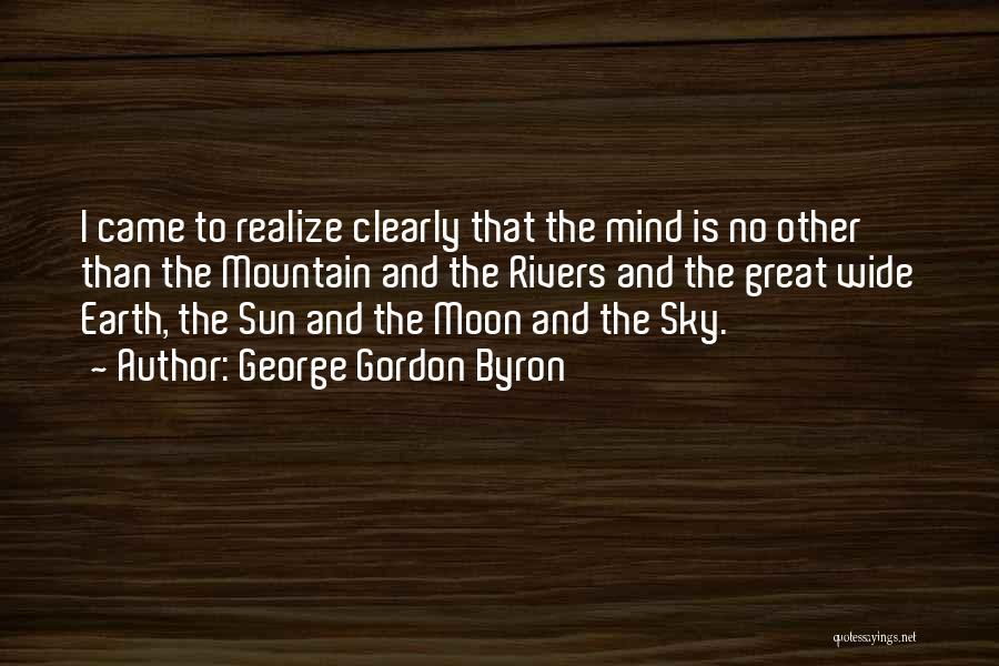 Sun Moon And Earth Quotes By George Gordon Byron