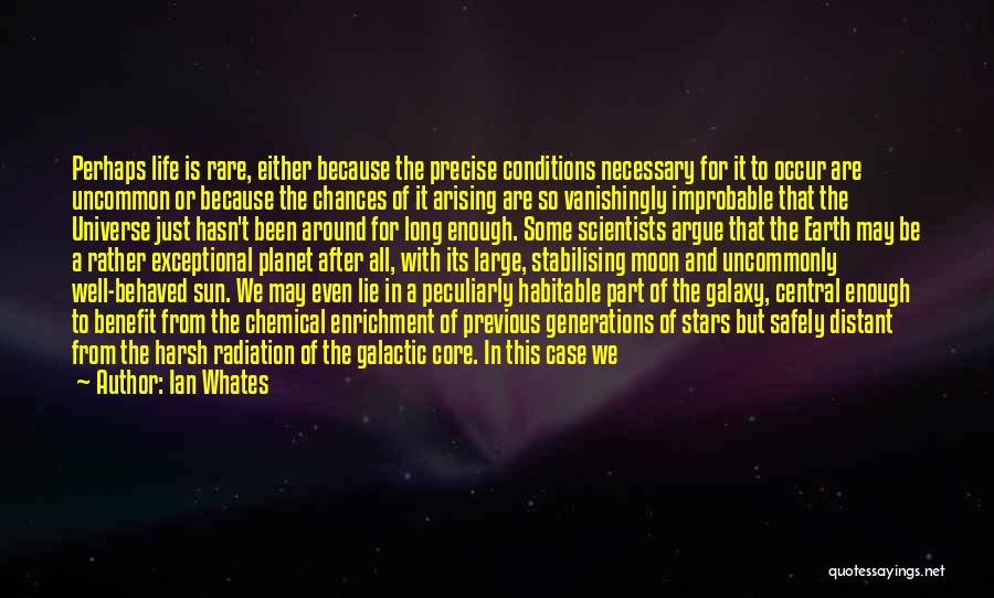 Sun Moon And Earth Quotes By Ian Whates