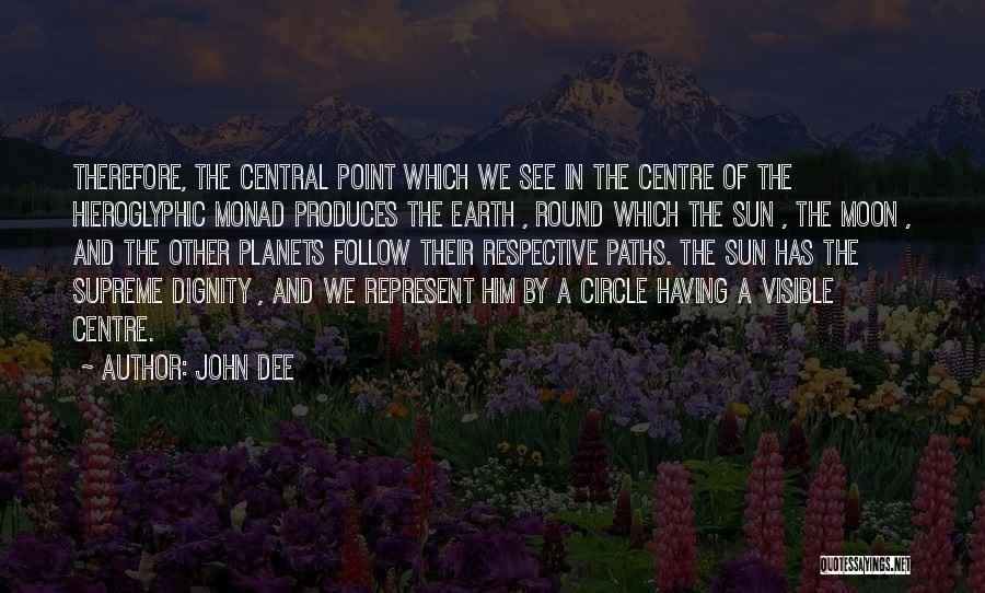 Sun Moon And Earth Quotes By John Dee