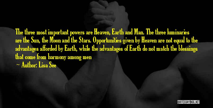 Sun Moon And Earth Quotes By Lisa See