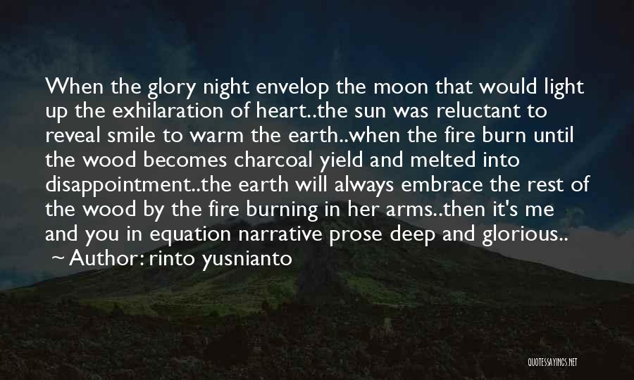 Sun Moon And Earth Quotes By Rinto Yusnianto
