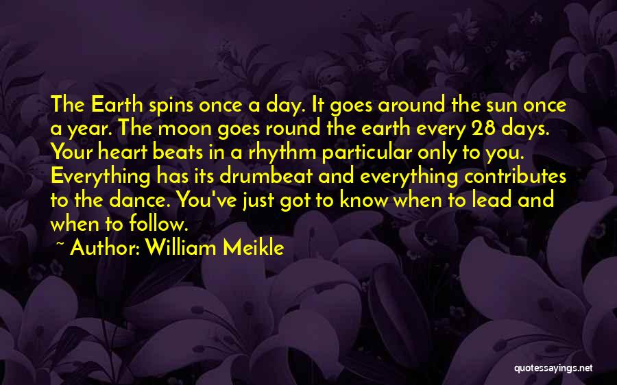 Sun Moon And Earth Quotes By William Meikle